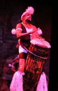 Pline Mounzeo, Traditional Drummer